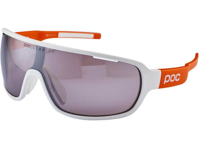 POC DO Blade AVIP Lunettes, hydrogen white/zink orange